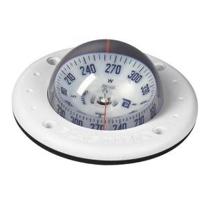 Plastimo Mini-C inbouw kompas wit - witte roos conisch