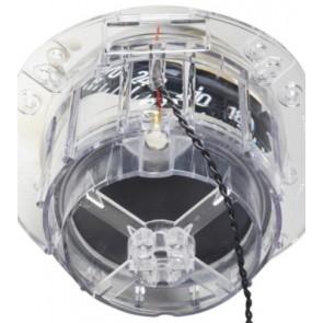 Plastimo Offshore 115 kompas wit, zwart conische roos