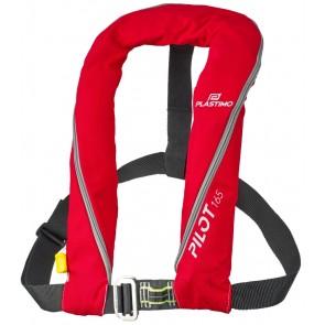Plastimo Pilot 165 II automatisch reddingsvest - harnas - rood