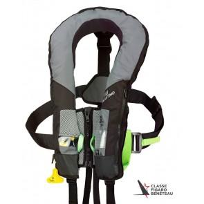 Plastimo SL180 automatisch reddingvest - Hammar venster - harnas - kruisband
