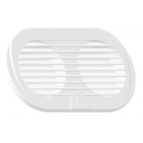 Plastimo Ventilatierooster dubbel 3 inch wit