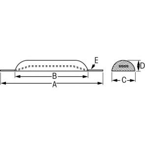 Anode zink 0.5 kg opschroefbaar