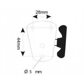 Poollicht Plug-In 12V/10W-H54cm