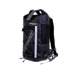 Front Left OverBoard Waterproof Backpack 20ltr Pro-light backpack black