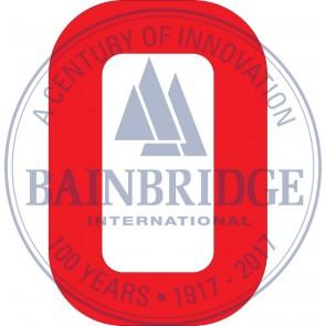Bainbridge Zeilnummer 300 mm rood 0