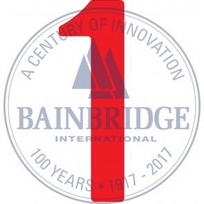 Bainbridge Zeilnummer 300 mm rood 1