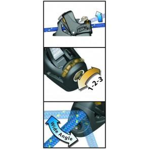 Spinlock PXR Cam Cleat - Swivel Base 2-6mm PXR0206/SW