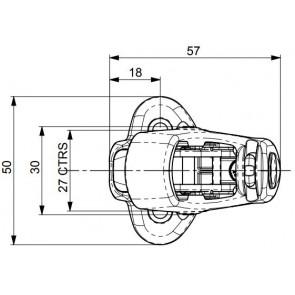 Spinlock PXR Cam Cleat - Retrofit 2-6mm PXR0206/T