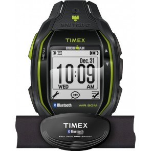 Timex Ironman Run x50+ HRM Charcoal/Lime