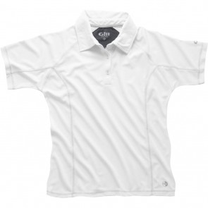Gill Women's UV Tec Polo White