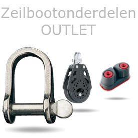 Zeilboot onderdelen outlet